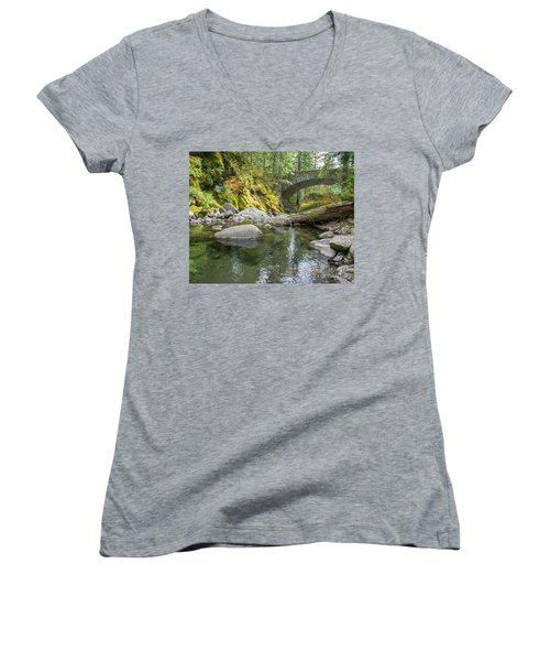 Nickel Creek 1024 Women's V-Neck T-Shirt