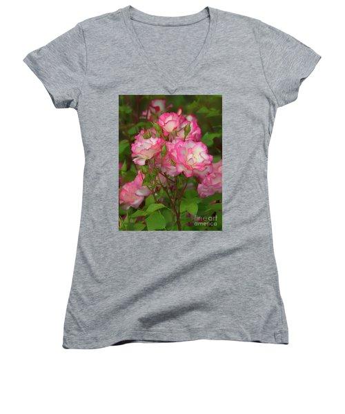 Nicole Rose Lighter Women's V-Neck T-Shirt
