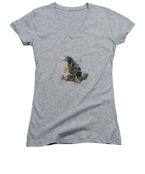 Niffler Women's V-Neck T-Shirt