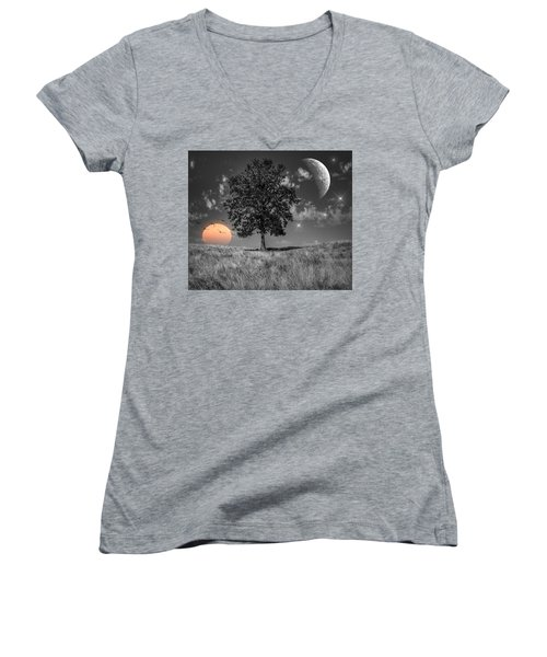 Night And Day Women's V-Neck