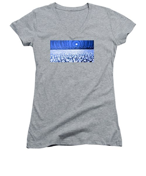 Night Light Women's V-Neck (Athletic Fit)