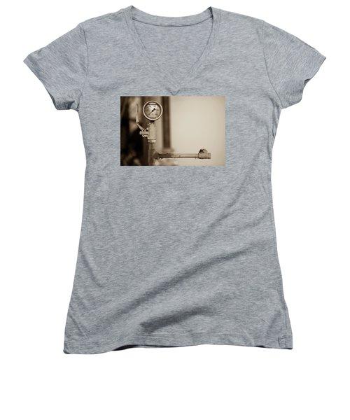 No Pressure Women's V-Neck T-Shirt