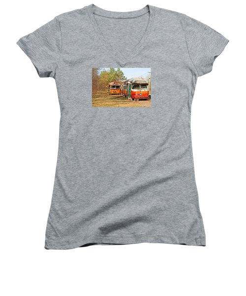 No Stops Women's V-Neck (Athletic Fit)