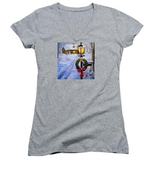 Noel Women's V-Neck T-Shirt