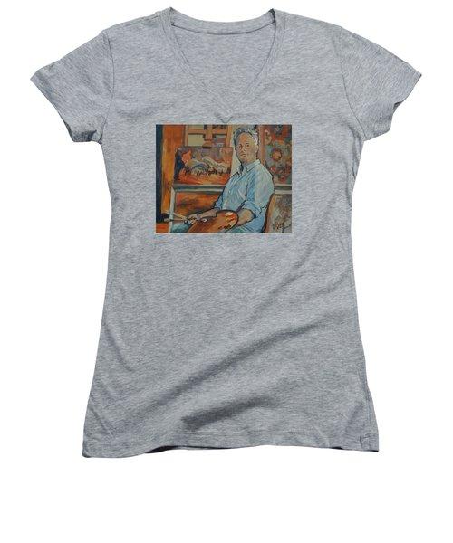 Nop Briex Self Portrait Women's V-Neck T-Shirt