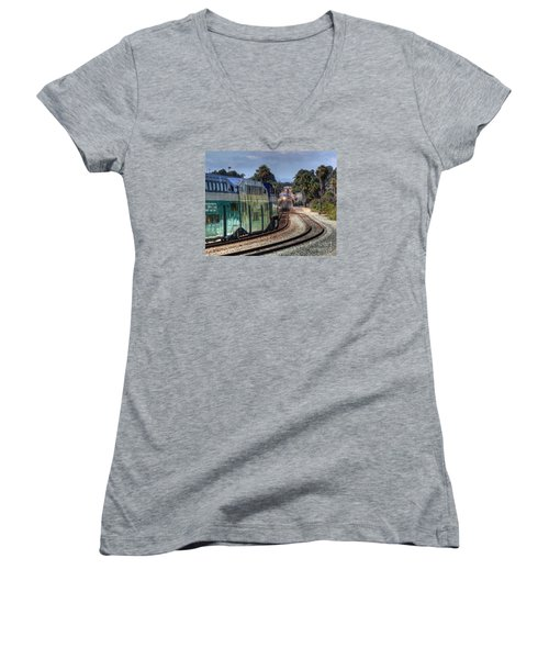 North Bound Women's V-Neck (Athletic Fit)