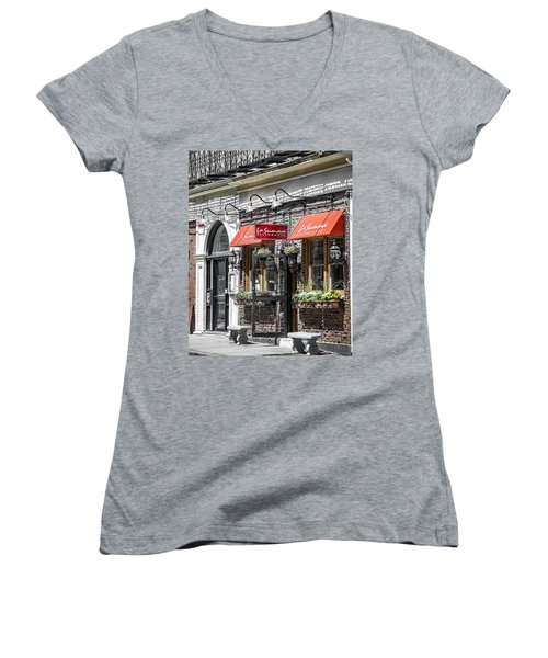 North End  Women's V-Neck (Athletic Fit)