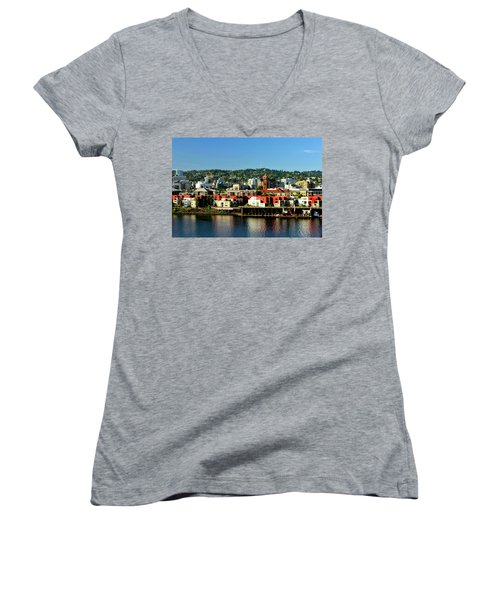 Northwest Portland Women's V-Neck T-Shirt