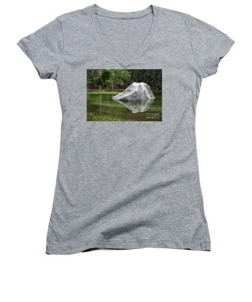 Not An Iceberg Women's V-Neck T-Shirt
