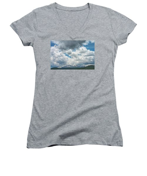 Not Until We Are Lost Do We Begin To Understand Ourselves.  Women's V-Neck (Athletic Fit)