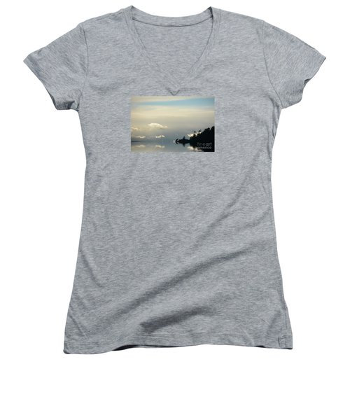 November Sky Women's V-Neck T-Shirt