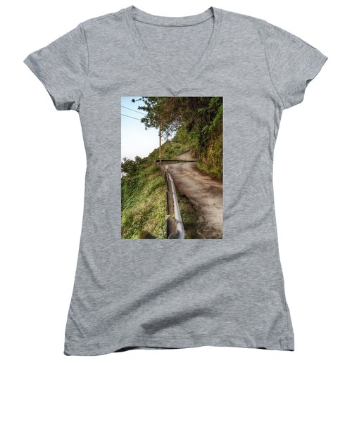 Nowhere But Up Women's V-Neck
