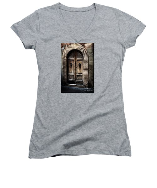 Number 13 Women's V-Neck T-Shirt