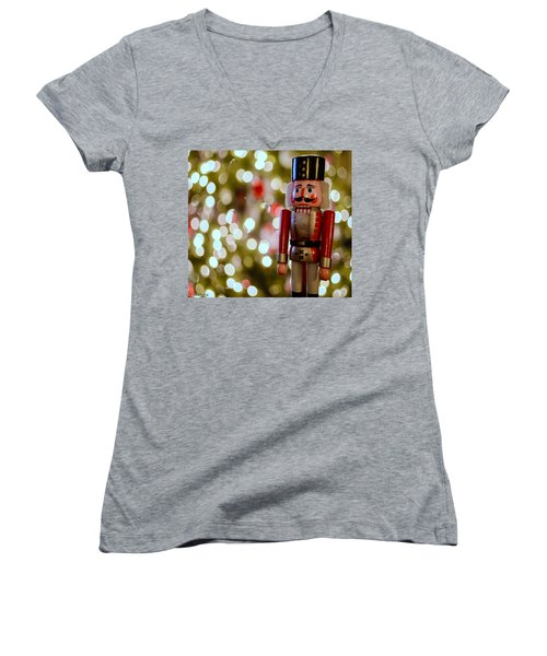 Nutcracker Women's V-Neck