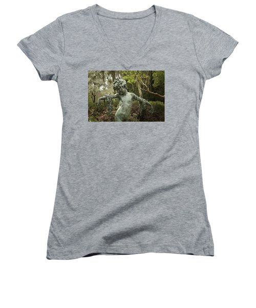 Wood Nymph Women's V-Neck (Athletic Fit)