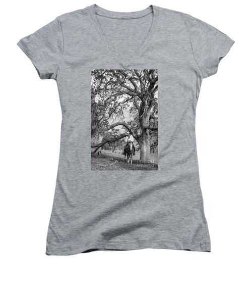 Oak Arches Women's V-Neck T-Shirt