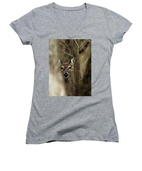 Observed  Women's V-Neck T-Shirt