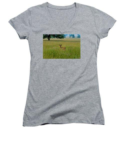 Observer Women's V-Neck T-Shirt