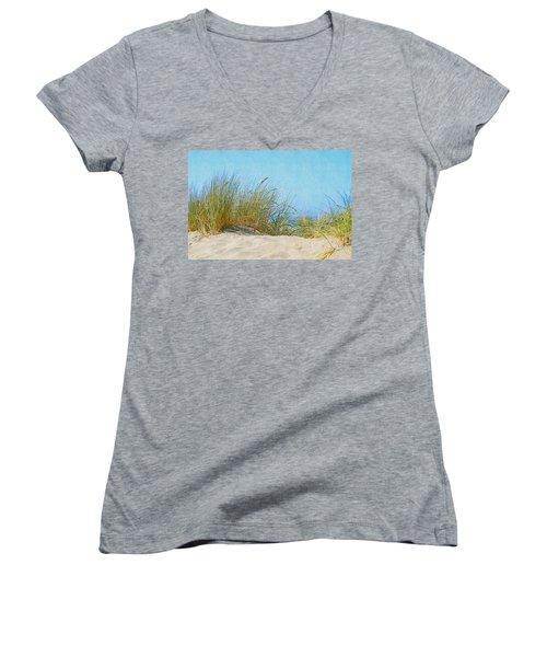 Ocean Beach Dunes Women's V-Neck
