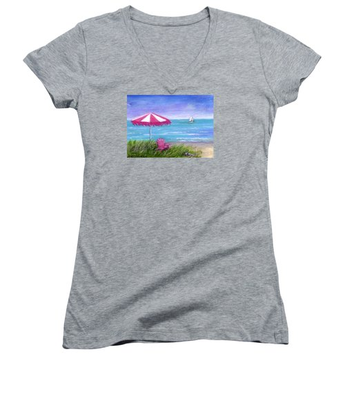 Ocean Breeze Women's V-Neck T-Shirt