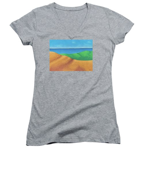 Ocean Daybreak Women's V-Neck