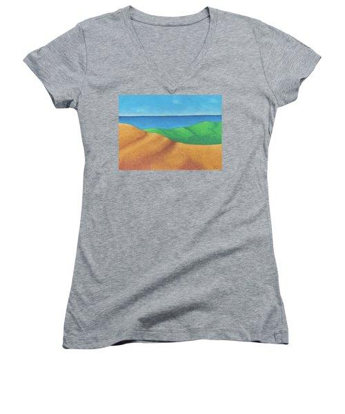 Ocean Daybreak Women's V-Neck