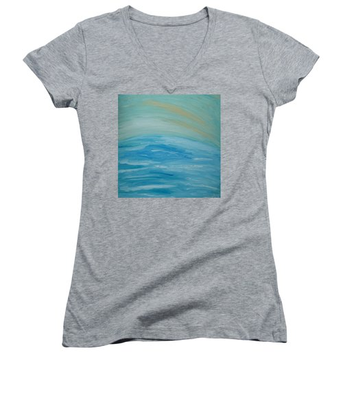 Ocean. Fantasy 29. Women's V-Neck T-Shirt