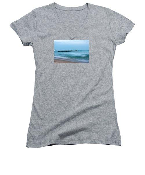 Ocean Flow Women's V-Neck T-Shirt