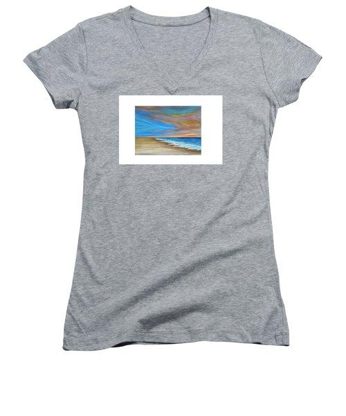 Ocean  Journey  Women's V-Neck T-Shirt