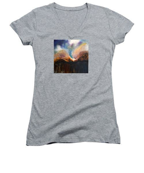 Oceans Apart Women's V-Neck T-Shirt