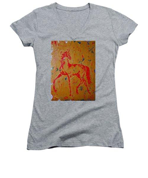Ochre Horse Women's V-Neck