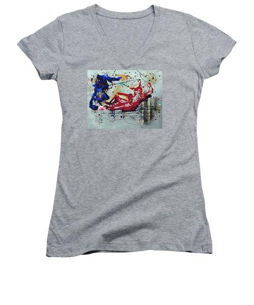 October Fever Women's V-Neck T-Shirt