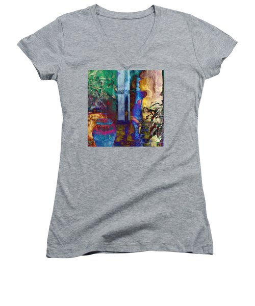 Ode On Another Urn Women's V-Neck