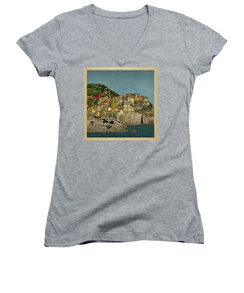 Of Houses And Hills Women's V-Neck T-Shirt