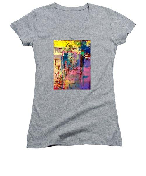 Of South 1 Women's V-Neck T-Shirt