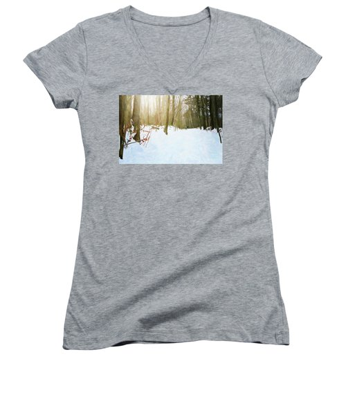 Off The Beaten Path Women's V-Neck (Athletic Fit)