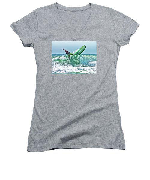 Off The Top Women's V-Neck