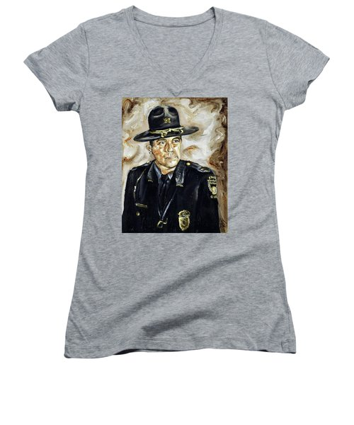 Officer Demaree Women's V-Neck T-Shirt