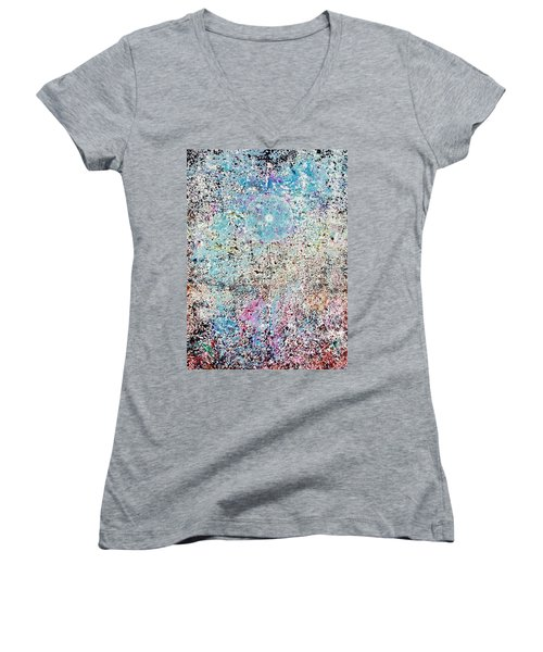 15-offspring While I Was On The Path To Perfection 15 Women's V-Neck (Athletic Fit)
