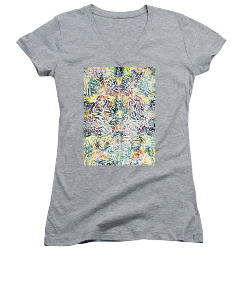 20-offspring While I Was On The Path To Perfection 20 Women's V-Neck (Athletic Fit)