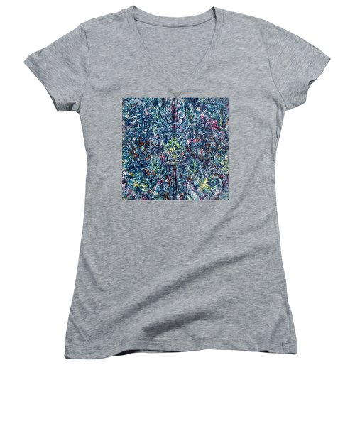 46-offspring While I Was On The Path To Perfection 46 Women's V-Neck