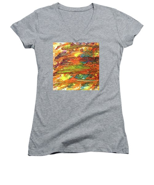 5-offspring While I Was On The Path To Perfection 5 Women's V-Neck