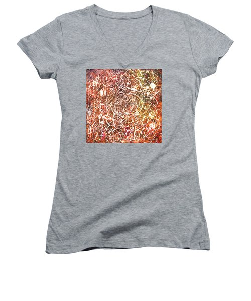 7-offspring While I Was On The Path To Perfection 7 Women's V-Neck