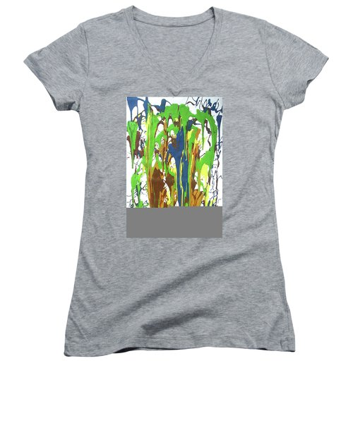 9-offspring While I Was On The Path To Perfection 9 Women's V-Neck (Athletic Fit)