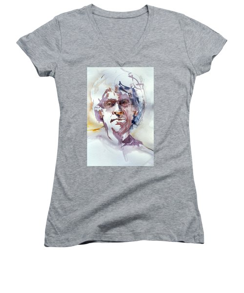 Ogden Head Study 1 Women's V-Neck
