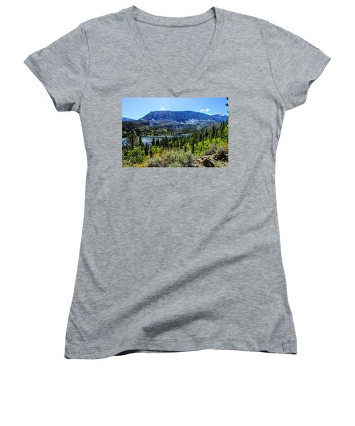 Oh What A View Women's V-Neck (Athletic Fit)