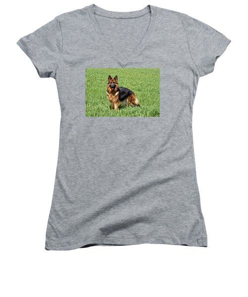Ohana In Field Women's V-Neck