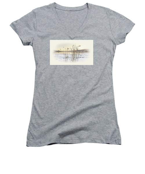 Okanagan Glod Women's V-Neck