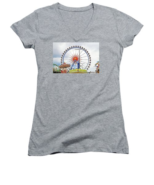 Oktoberfest 2010 Munich Women's V-Neck T-Shirt