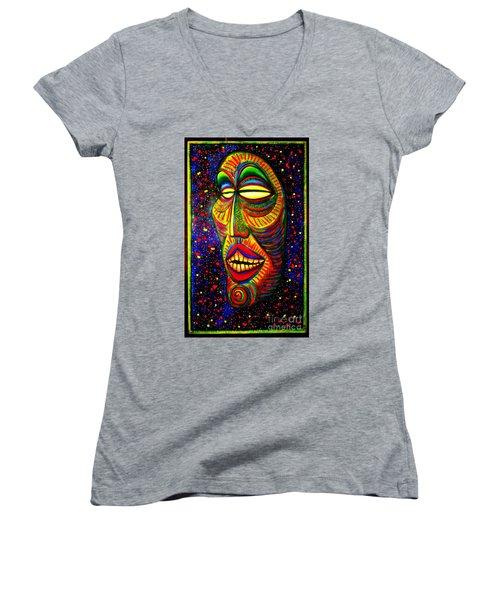 Ol' Funny Face Women's V-Neck T-Shirt